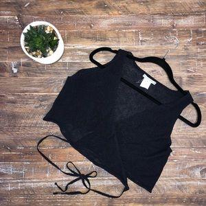 Sarah Pacini Wrap-tie Vest